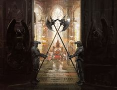fantasy lighting throne room - Google Search