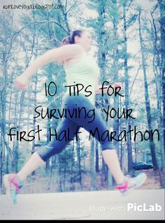 So you're running your first half marathon.  Good for you for being only half crazy!  Ideally, you've put in some serious training o...