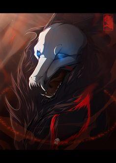 Art Manga, Anime Art Girl, Wolf Deviantart, Cyberpunk, Demon Wolf, Shadow Wolf, Spiritual Animal, Fantasy Wolf, Wolf Spirit Animal