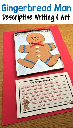 These cute gingerbread man writing prompts are great to use any time during the holiday season. They are perfect to spark your kids' creativity and help them get excited about writing! There are four different prompts to choose from so you can select the one(s) that best match the ability level of your class. You could also put all of them in your writing center and let the children pick which one they want. Christmas Math, Christmas Activities, Preschool Activities, Work Activities, Christmas Ornaments, Kindergarten Writing, Kids Writing, Writing Centers, Christmas Writing Prompts