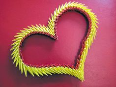 Origami Maniacs: Origami 3d Heart
