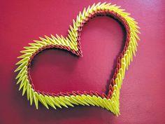 Origami Maniacs: Origami 3d Heart