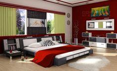 Modern Schlafzimmer Design-Ideen für kleine Schlafzimmer