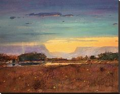 Texas Watercolor, Posters and Prints at Art.com