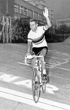 Tom Simpson winning Lombardia....he was a true hero but also a victim of the lack of knowledge of his time