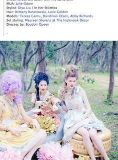 Boudoir Queen Pastel Dresses