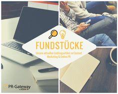 Unsere Lieblings-Fundstücke zu Online-PR und Content Marketing - 05.07.2016  #OnlinePR #ContentMarketing #InfluencerMarketing #SocialMedia
