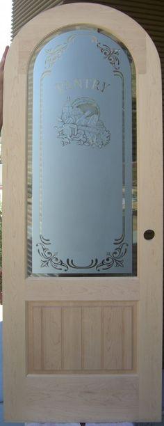 Door Style: Radius Top 3/4 Lite Door