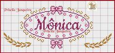 MÔNICA Cute Cross Stitch, Knit Crochet, Bullet Journal, Embroidery, Knitting, Pattern, Frozen Cross Stitch, Bear Graphic, Cross Stitch Fairy