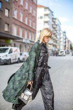 Stockholm Fashion Week Spring 2017 - Stockholm Fashion Week Street Style