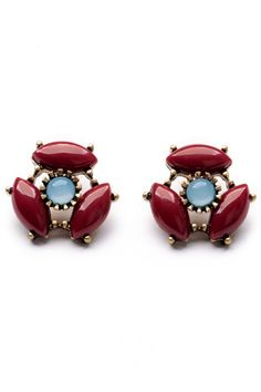 Selling this Natural Red Stone Earrings. Jewelry in my Poshmark closet! My username is: hgbartholomew. Blue Crystals, Stones And Crystals, Gemstone Earrings, Stud Earrings, Fashion Jewelry, Women Jewelry, Women's Fashion, Natural Red, Vintage Earrings