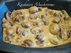 Kashmiri Mushrooms