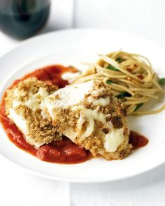 Healthier Chicken Parmesan Recipe