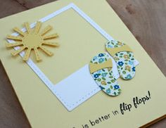 Cute summer card for all occasions!