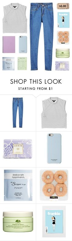 """like to join our taglist"" by walking-disasters ❤ liked on Polyvore featuring Monki, Estée Lauder, Isaac Mizrahi, Deborah Lippmann and Origins"