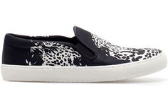 Step into the School Year with 100 Super Stylish Sneakers: Zara Slip-on sneakers