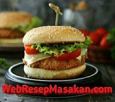 Chicken Burger Resep Masakan Resep Burger Masakan