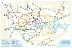 Pointless rebrand of Harry Beck's tube map. Why change something so iconic and distinctive with something that just doesn't work. Supposed to be more geographically accurate when that wasn't the  point of the underground map.