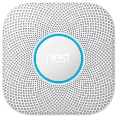 The Nest Protect smoke and CO alarm looks for both fast and slow burning fires. And it lets you hush a false alarm with your phone. Nest Protect has a friendly human voice that gives you an early warning. Smart Home Control, Carbon Monoxide Alarms, Thing 1, Smoke Alarms, Nest Thermostat, Ip Camera, Air Purifier, Online Shopping Stores