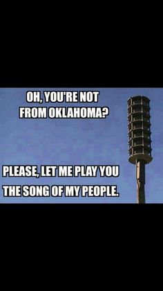 For those not familiar - its a tornado siren........
