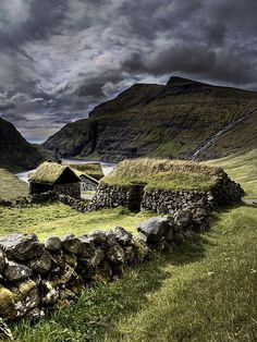 Old Scottish homes.