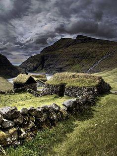 Old Scottish homes.