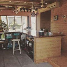 Masumiさんの、無印良品,照明,ダイニング,CRASH GATE,土間キッチン,IKEA,マイホーム,新築,BESSの家,キッチン,のお部屋写真