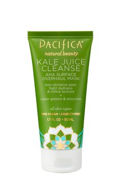 Pacifica Kale Juice Cleanse AHA Surface Overhaul Mask  - The Top 3 Anti-Aging Skin Treatments Being Used Today