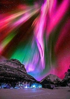 #オーロラ #northernlights #nature #color これはきれい。