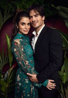 Ian Somerhalder and Nikki Reed, Environmental Media Association's 2017 EMA Awards at Barkar Hangar on Saturday (September 23) in Santa Monica, Calif.
