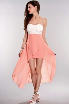 Now I'm just in love with this dress, got to say- it's a little short. But hey, show of them thighs! ;)
