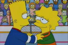 Lisa on Ice/Gallery Meme Dos Simpsons, The Simpsons, Bart And Lisa Simpson, Homer Simpson, Cartoon Pics, Cartoon Characters, Fictional Characters, Lisa Y Bart, Sibling Rivalry