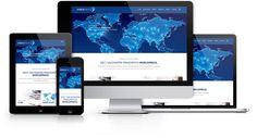 Responsywna strona internetowa zaprojektowana i wykonana przez WiWi dla sieci saloników prasowych Worldpress #responsive #design #webdesign #inspiration #Responsive #Web #layout