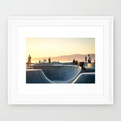 Buy Venice Beach Framed Art Print by Donovan. Worldwide shipping available at Society6.com. Just one of millions of high quality products available.