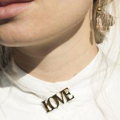 love brooch