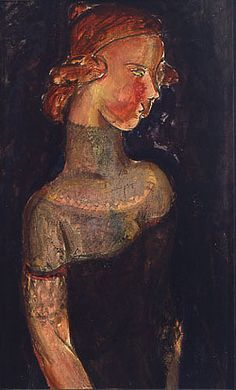 """huariqueje: """" Dowager - Alfred Henry Maurer, c. 1920 American, oil on board, 21 ½ x 13 ¼ inches """" Feminine Mystique, Illustrations, Sculpture, Wood Engraving, Henri Matisse, Contemporary Paintings, American Art, Fine Art, Gallery"""