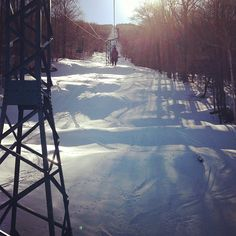 One of my favorite places on earth. #madriverglen #skiing #home #vermont