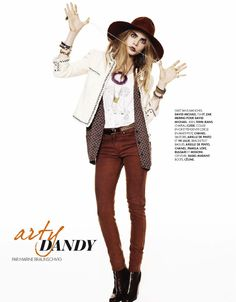 coco my way: cara delevingne by wendelin spiess for elle france n°3476 16th august 2012