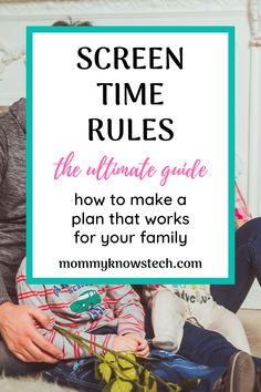 Need help setting effective screen time rules for your family? Check out these expert guidelines and see real-life examples of screen time rules that work. Technology Addiction, Screen Time For Kids, Rules For Kids, Detox Challenge, Single Parenting, Kids Online, Alter, Parents, Challenges