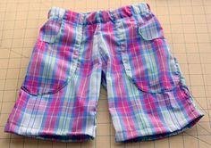 Выкройка и пошив женских шорт