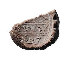 Isaiah's Signature Uncovered in Jerusalem - Biblical Archaeology Society King Hezekiah, End Of The Word, Prophet Isaiah, S Signature, Linen Bag, Jerusalem, Archaeology