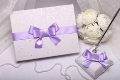 Wedding guest book lilac - wedding gift - wedding guestbook - guest book - wedding pen - sign book - unique wedding guestbook by VIZZARA on Etsy