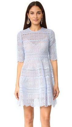 Zimmermann Расклешенное мини-платье Adorn с вышивкой