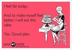 Now I want cake.