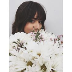 This selfie took 15 minutes to take. Daisies anyone? || Chloe Bennet || Instagram || #cast