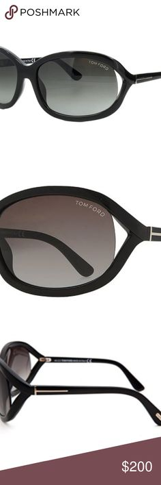 New Tom Ford Vivienne TF9278 01B Black Sunglasses Hello everyone, selling a brand new (without tags) Authentic Tom Ford Vivienne TF9278 01B Black Sunglasses Sunglasses made in Italy. The sunglasses come with the original Tom Ford case and cleaning cloth.  MODEL: TF9278 COLOR CODE: 01B LENS COLOR: BROWN FRAME COLOR: BLACK  EYE: 61 mm BRIDGE: 17 mm TEMPLE: 115 mm  Please let me know if you have any questions! : )  S50 Tom Ford Accessories Sunglasses