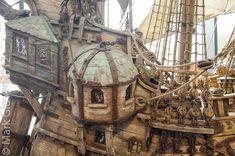 pirate ship interior concept art - Google Search
