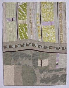 """Santa Barbara to Denver 8, 51"""" x 39"""", by Lou Ann Smith 2013"""