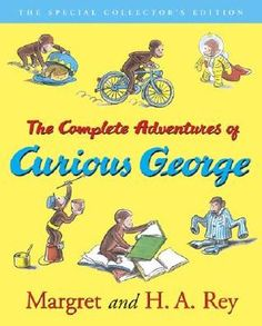 "READ BOOK ""The Complete Adventures of Curious George by Margret Rey""  free how read audio mp3 text itunes ebay сhapter"