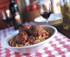 Maggiano's Spaghetti and Meatballs Recipe- straight from Maggiano's!